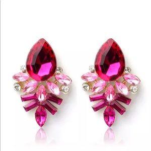 Jewelry - 💎 Stunning Crystal Rhinestone Earrings NEW